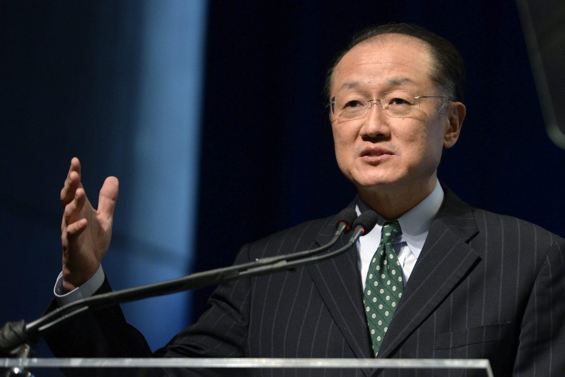 El presidente del Banco Mundial, Jim Yong Kim