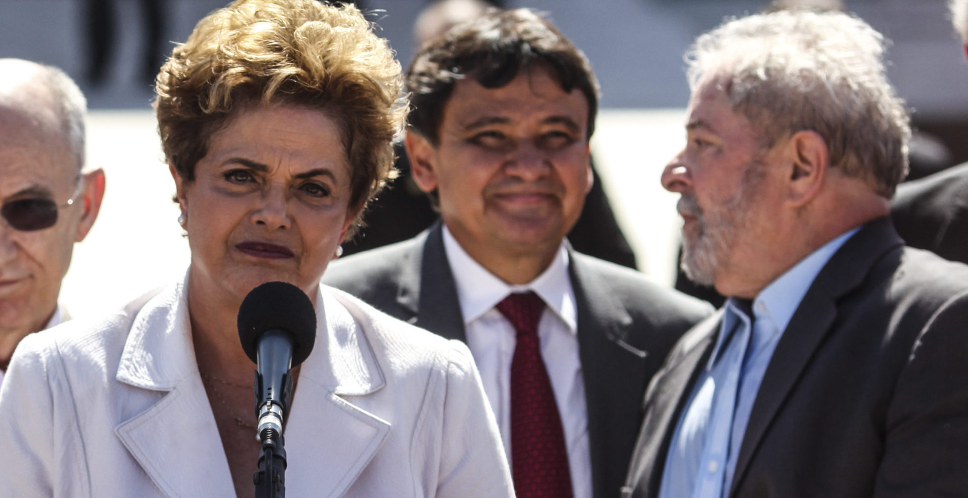 La presidenta de Brasil, Dilma Rousseff, suspendida de su cargo.