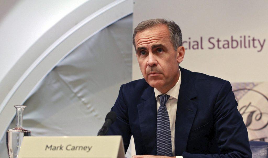 El gobernador del Banco de Inglaterra, Mark Carney