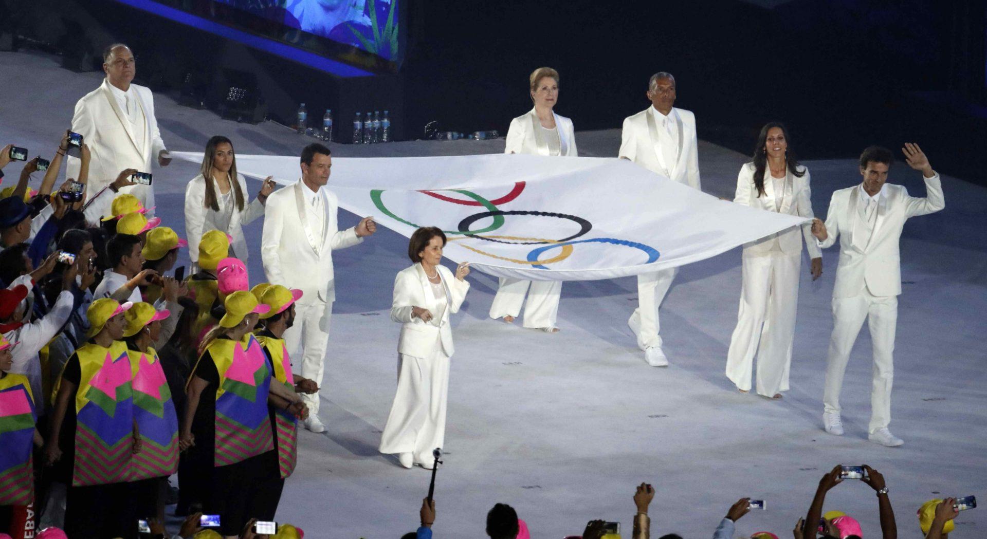 Ceremonia de inauguración de los Juegos Olímpicos de Río