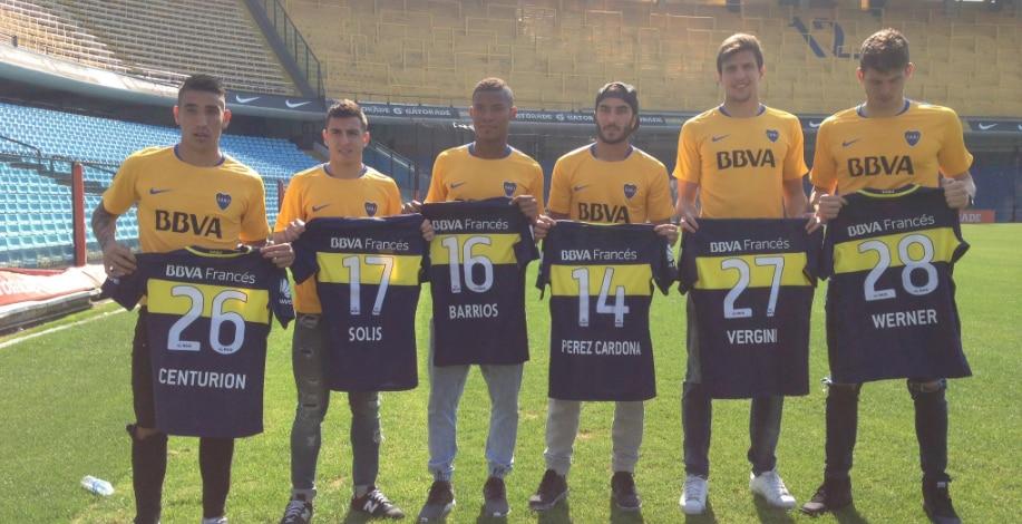 Fotografía de Fichajes de Boca Juniors temporada 2016/2017