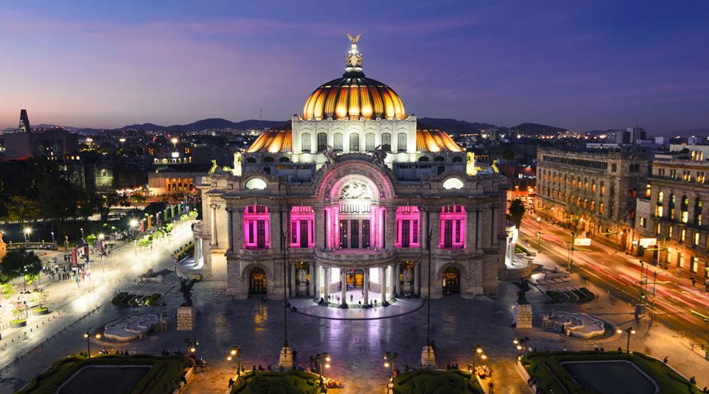 Fotografía de Palacio Bellas Artes ciudad de México BBVA