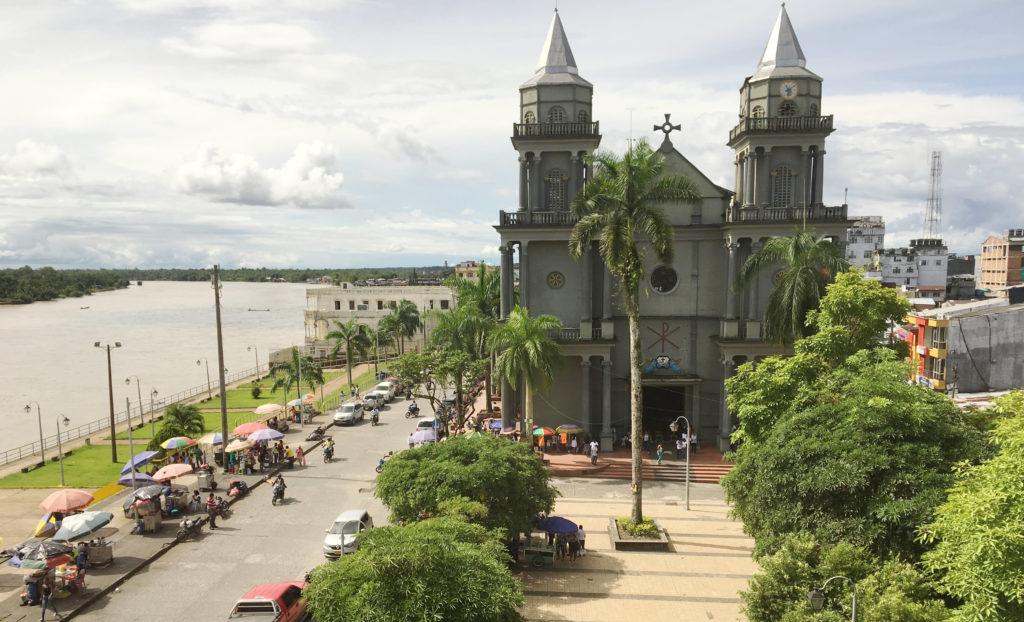 Fotografía de Iglesia junto al río San Juan en Quibdó, Chocó