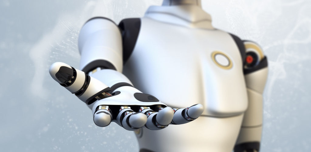 robot mano informatica robotica recurso bbva