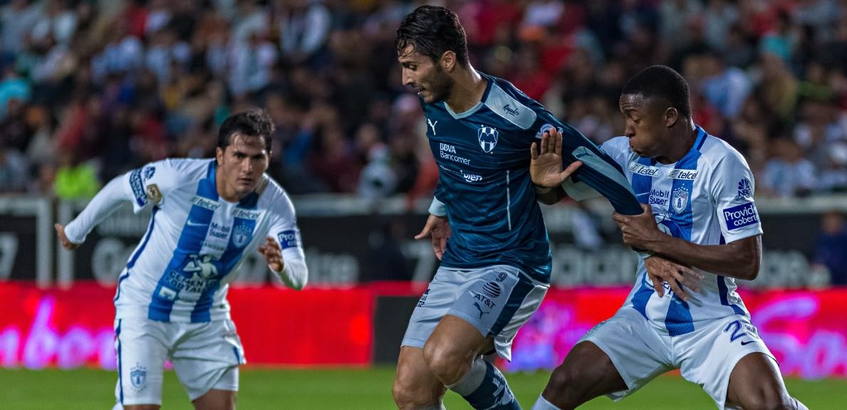 Imagen de un partido de Rayados de Monterrey en la Liga Bancomer MX | Foto: LigaBancomerMX.com