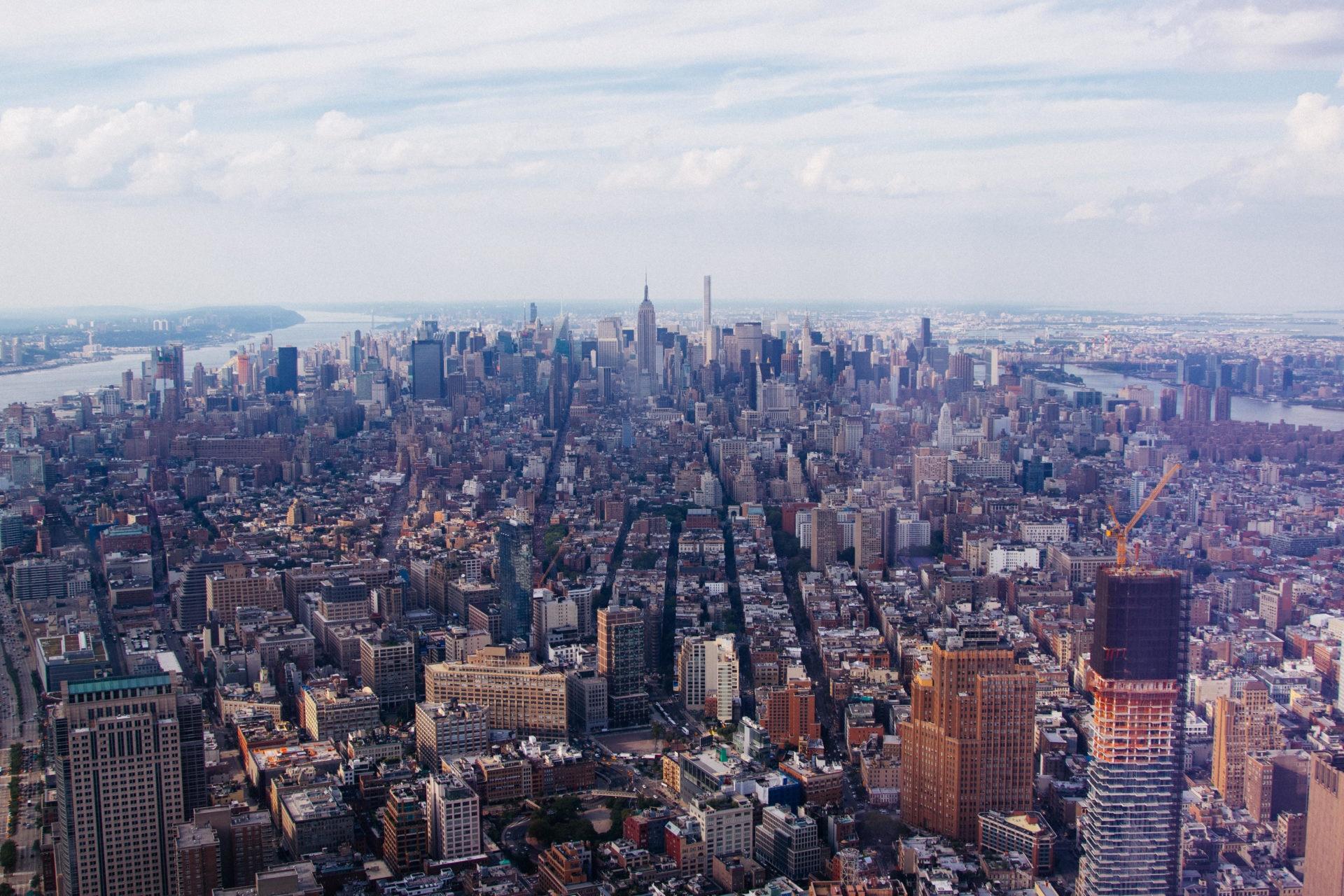 Fotografía del Skyline de Nueva York por Julian Alexander