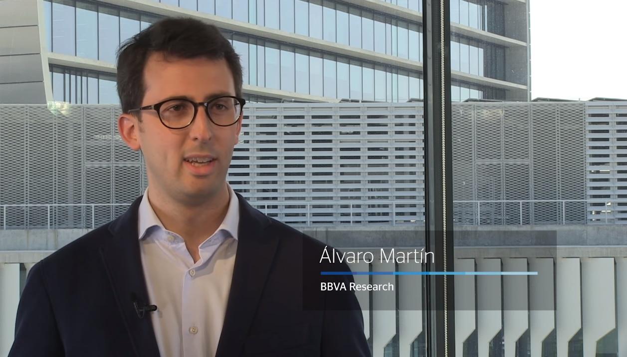 Fotografía de Álvaro Martín, BBVA Research, economía, fintech, sector financiero, bancos, BBVA, explicación