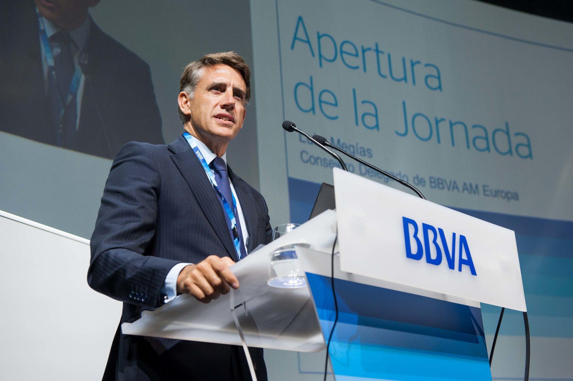 Fotografia de Luis Megias pensiones consejero delegado BBVA