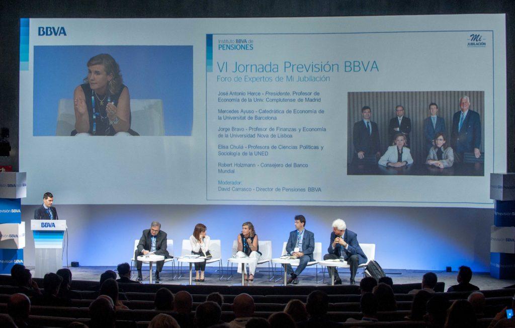 Fotografia de Foro expertos pensiones septiembre BBVA