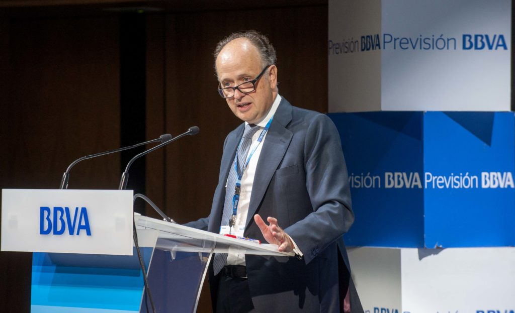 Fotografia de Eugenio Yurrita consejero delegado BBVA Seguros