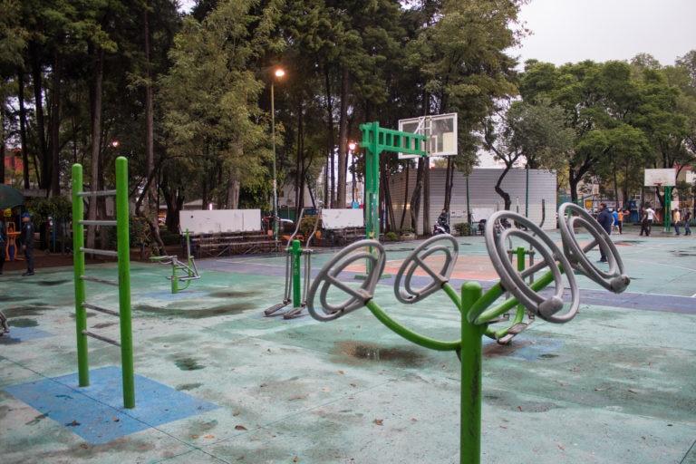 Antes Juegos Mejora Urbana