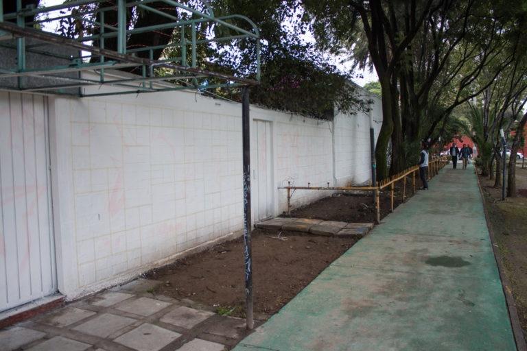 Antes Mural Sumando Esfuerzos