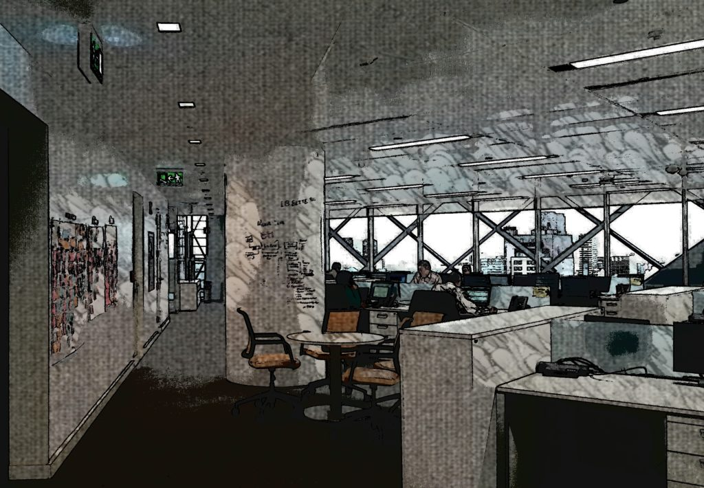 BBVA Bancomer método agile en Torre BBVA Bancomer 2