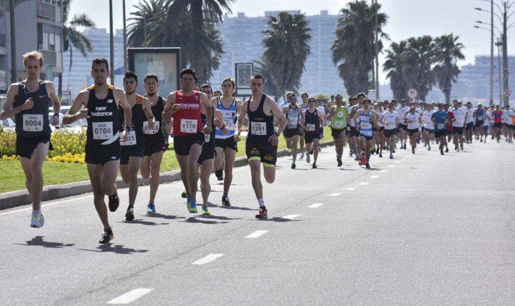 Corredores carrera 7K BBVA Uruguay