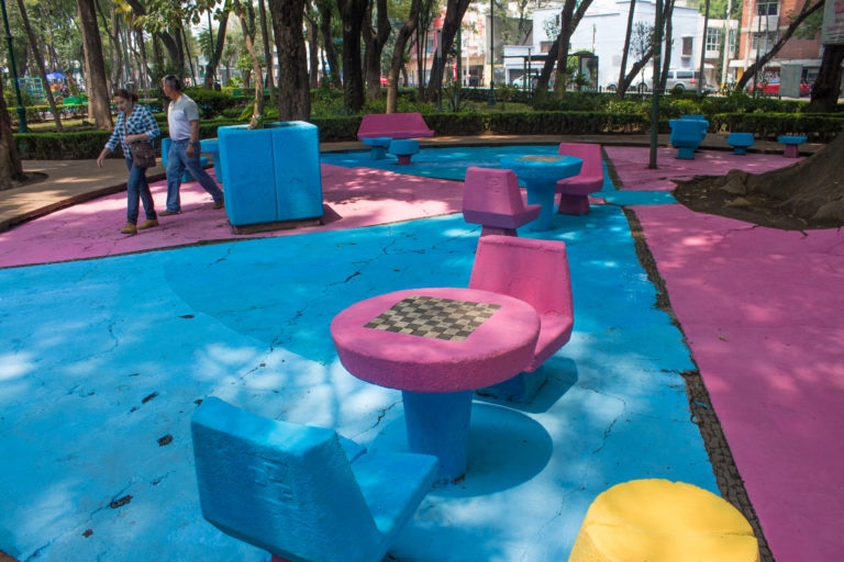 Despues AreaMesas Mejora Urbana