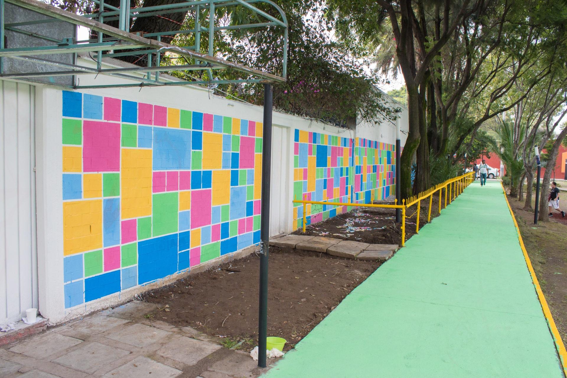 Despues Mural Mejora Urbana