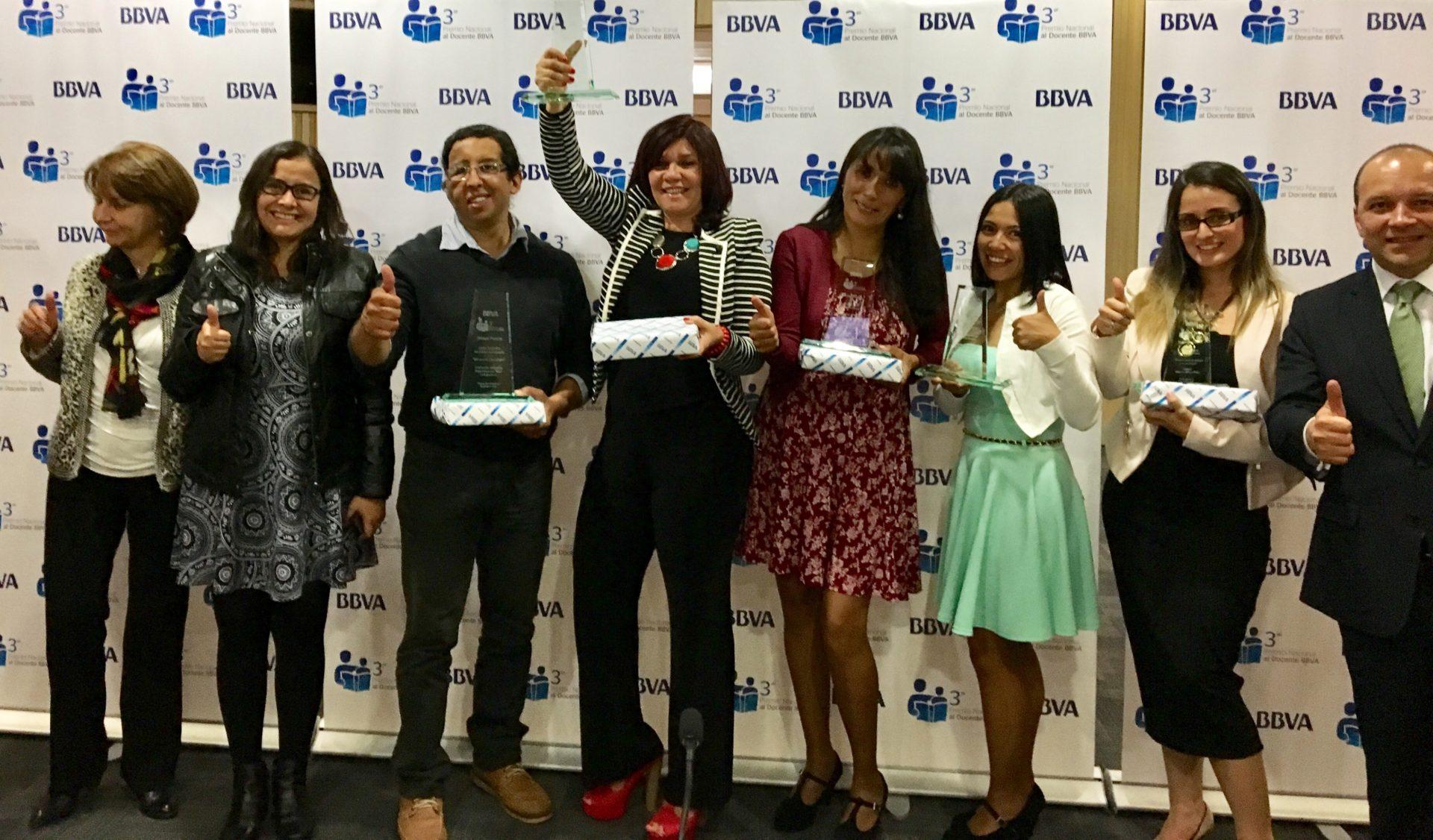 Ganadores Premio Nacional del Docente BBVA