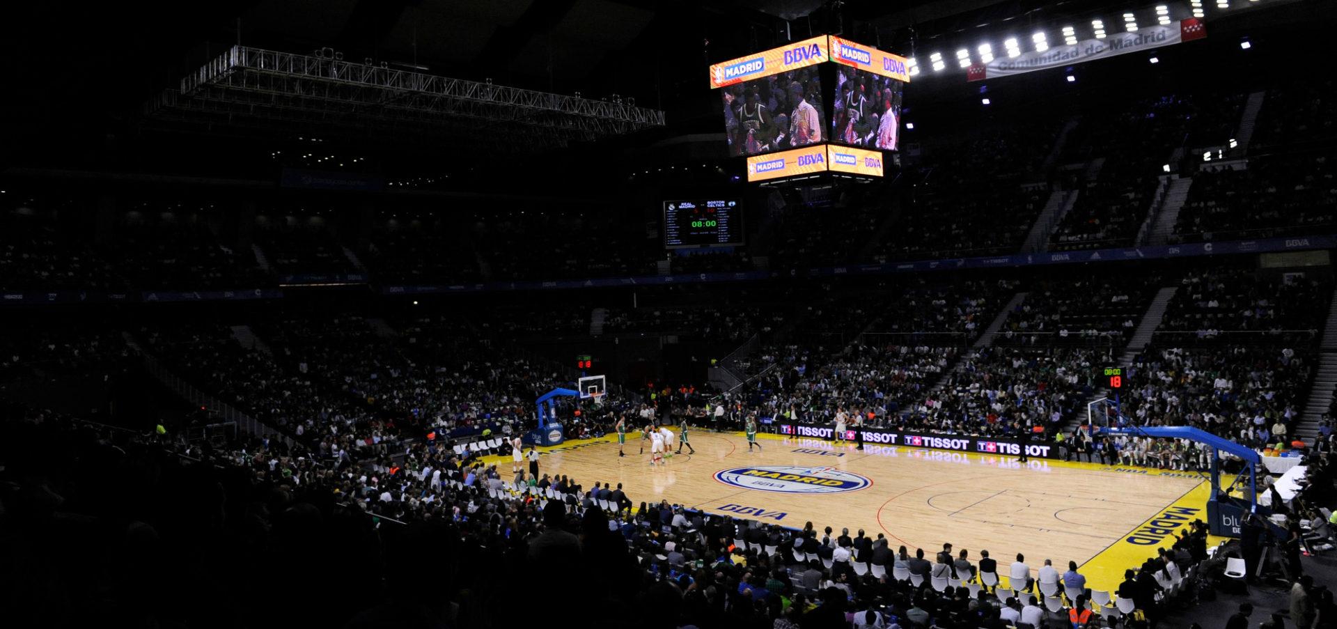 Fotografía de Global Games NBA estadio BBVA