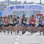 Largada carrera 7K de BBVA Uruguay