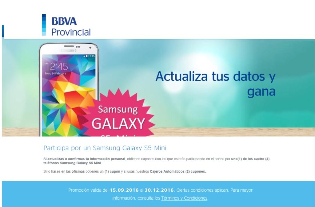 Imagen promoción BBVA Provincial