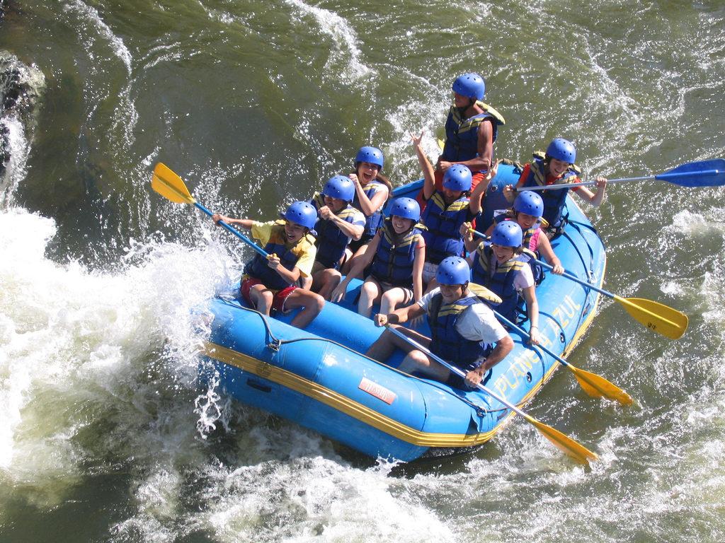 Fotografía de Maria Alegría, Flickr en Rafting en el río Fonce, San Gil, Colombia