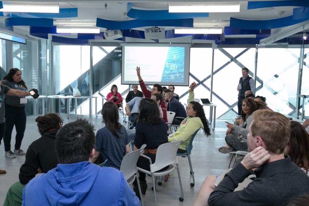Reunión Centro de Innovación BBVA Bancomer 3