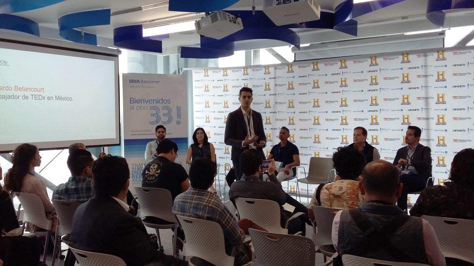 TDX México 2016 centro de innovación BBVA Bancomer