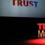 Antonella Broglia durante el TEDxMadrid 2016 patrocinado por Blue BBVA