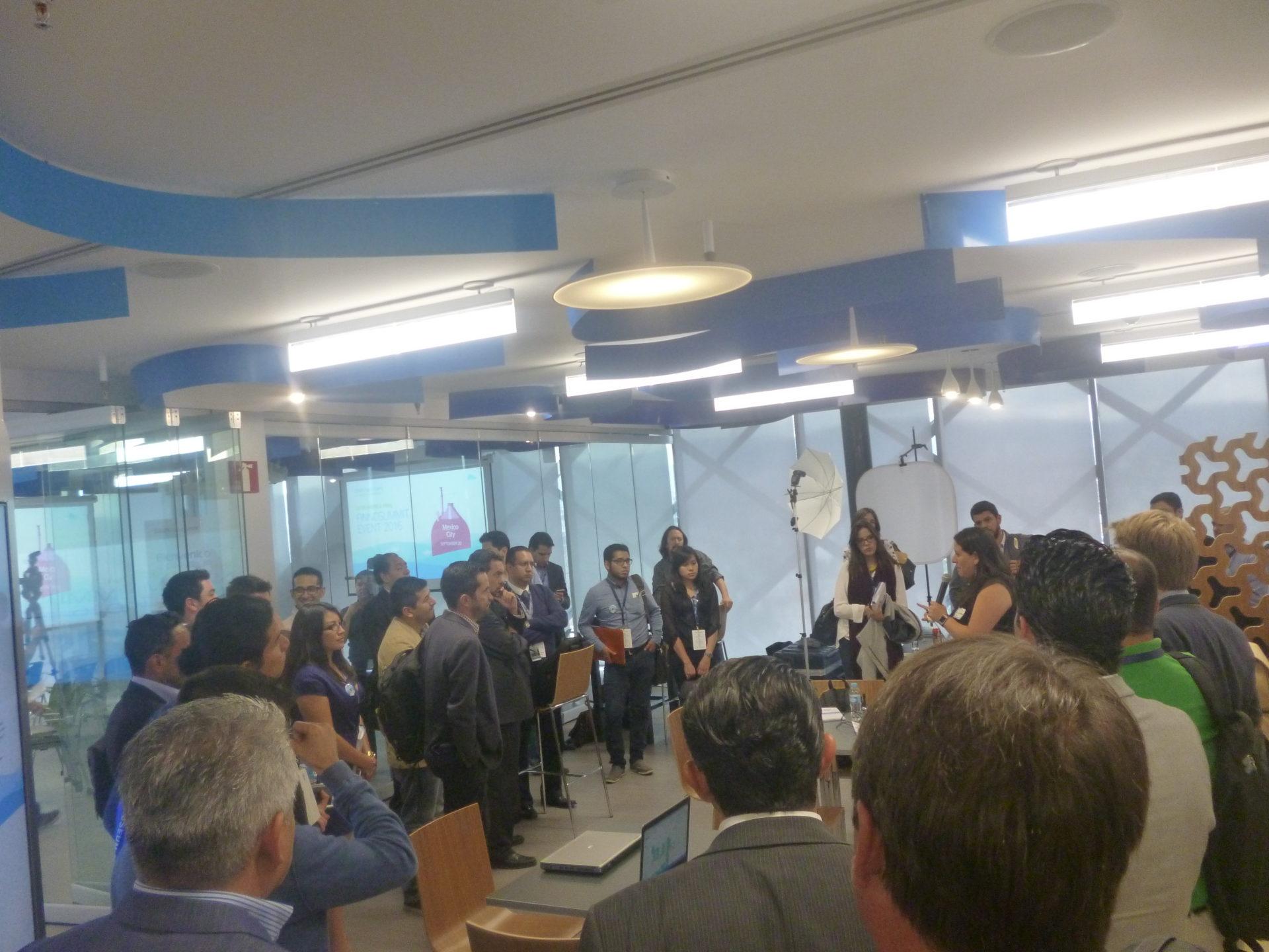 centro de innovación runión previa a final concurso Open Talent 2016 México