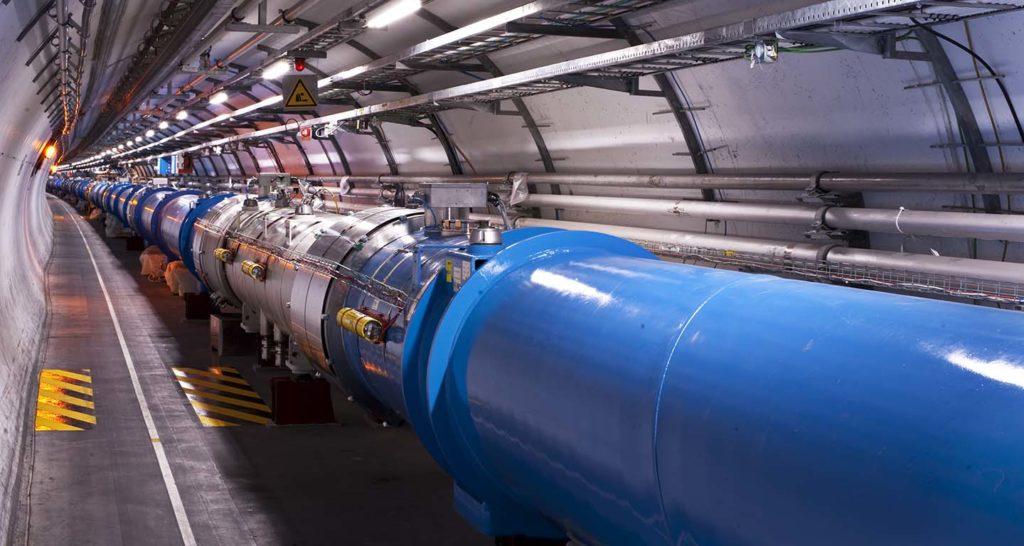 Imagen del Detalle del Gran Colisionador de Hadrones del CERN, cuyo trabajo se explica en las conferencias organizadas con la Fundación BBVA