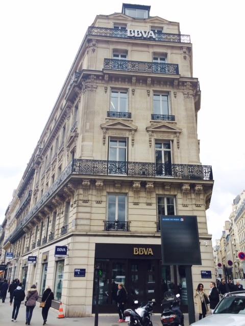 Oficina de BBVA en París