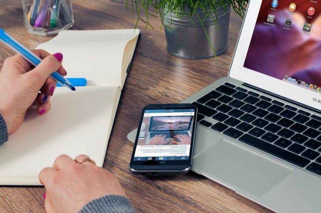 pagos moviles ordenador cuaderno recurso bbva