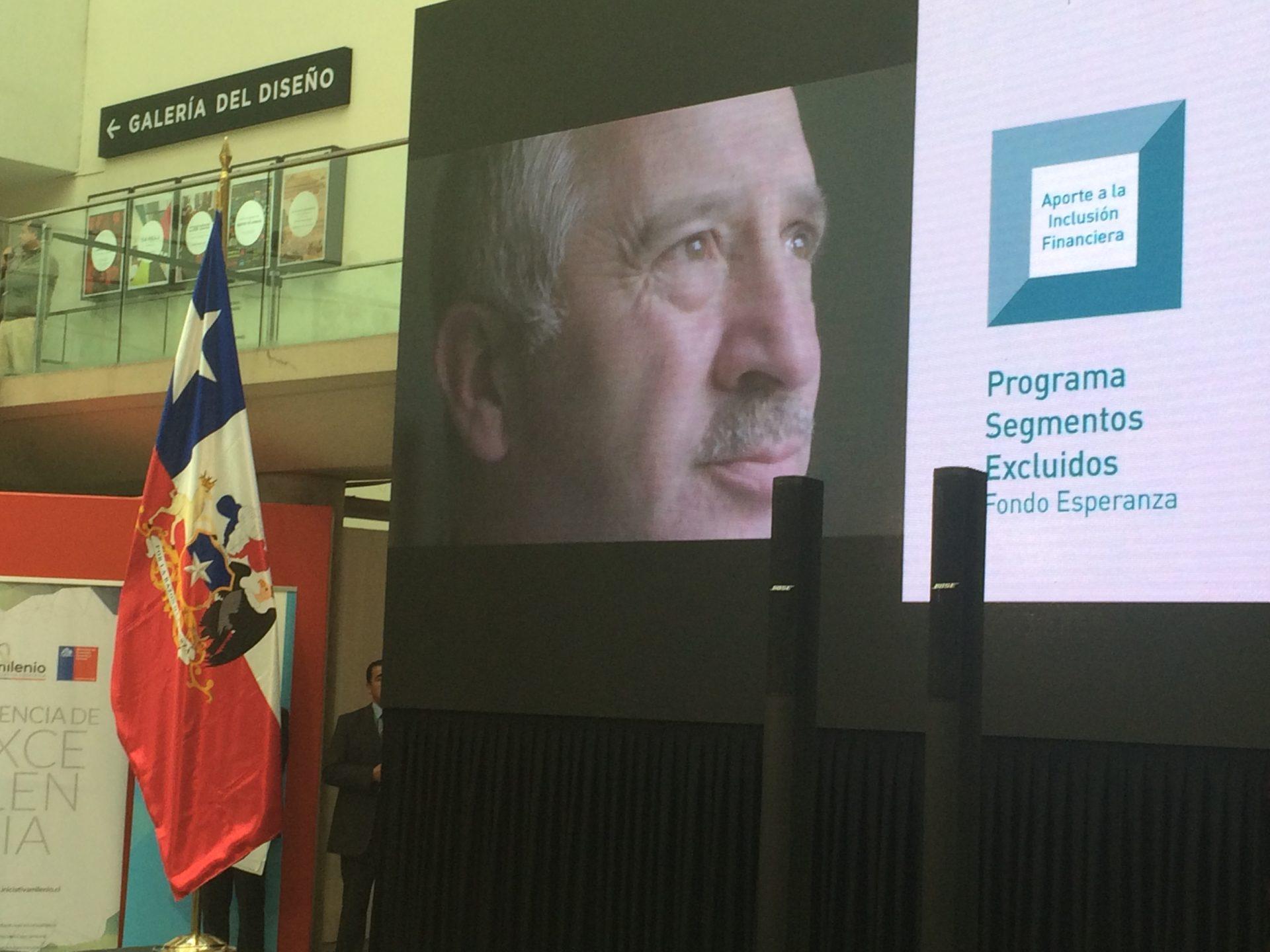 Fotografía Premio Inclusión Financiera Microfinanzas Chile