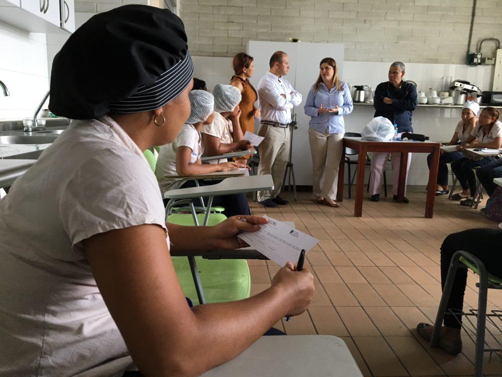 Aula de Cocina Fundación Juan Felipe Gómez