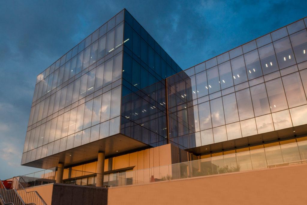 Vista exterior del Centro de Procesamiento de Datos