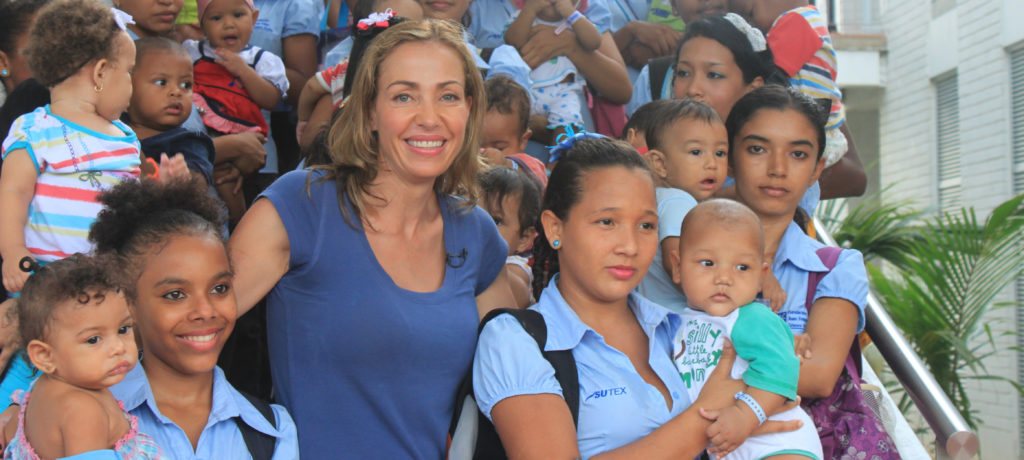 Catalina Escobar, fundadora de la Fundación Juan Felipe Gómez