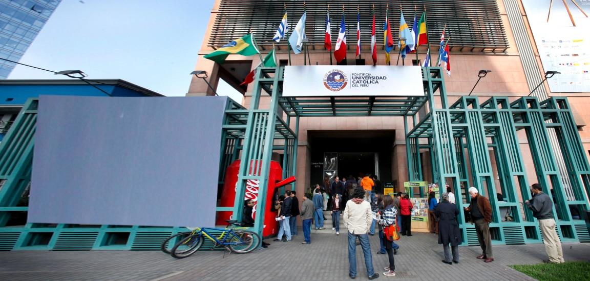 Fotografía del Centro Cultural de la Universidad Católica del Perú, que patrocina la Fundación BBVA Continental.