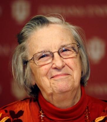 Fotografía de Elinor Ostrom, premio Nobel de economía
