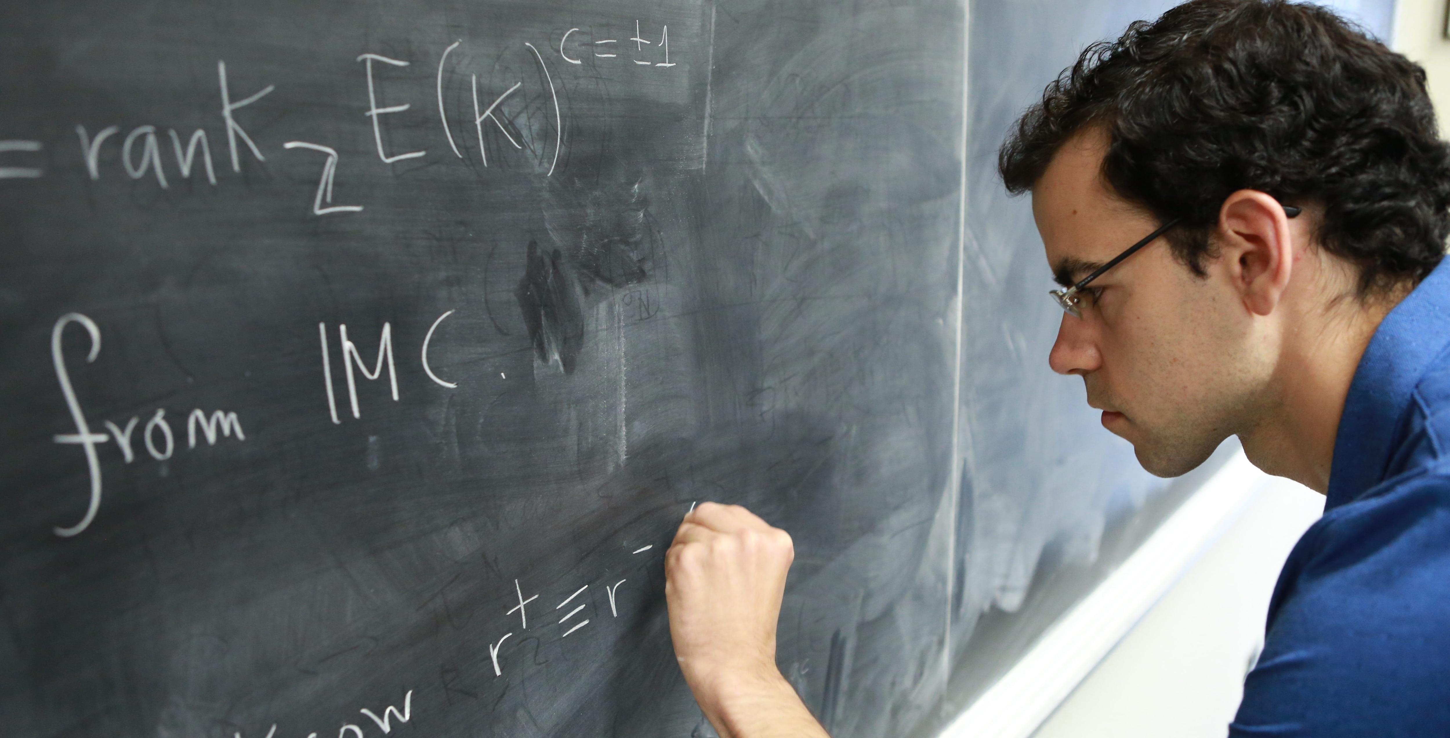 Imagen de Francesc Castellà, uno de los jóvenes matemáticos españoles premiado por la Fundación BBVA
