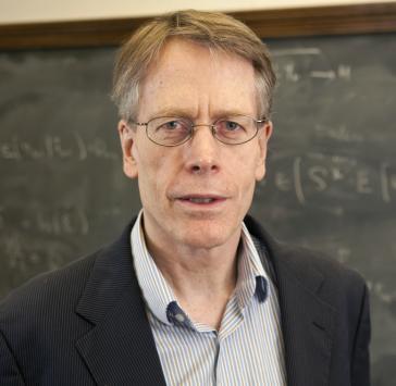 Fotografía de Lars Peter Hansen, premio Nobel de economía, Fundación BBVA, Fronteras del Conocimiento