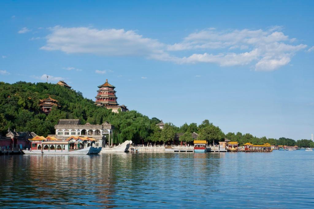Fotografía del Palacio de Verano Pekín