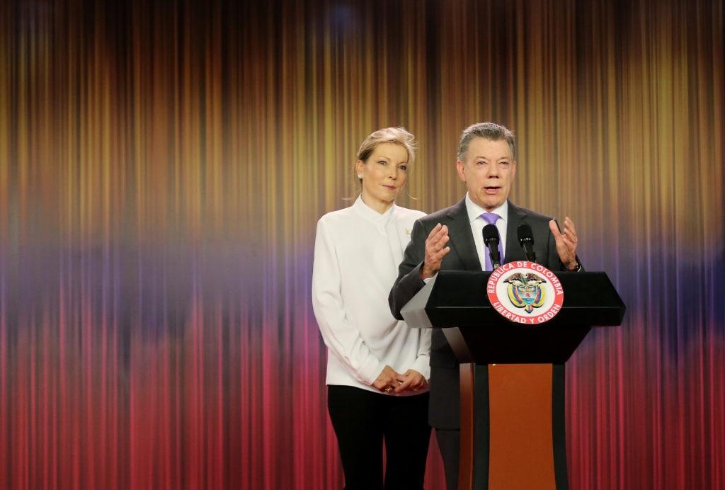 Santos agradece Nobel de Paz