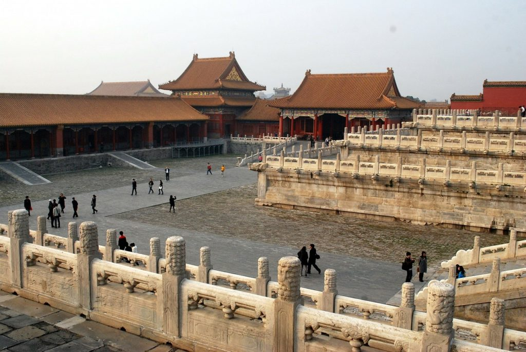 Fotografía de la Ciudad Prohibida de Pekín