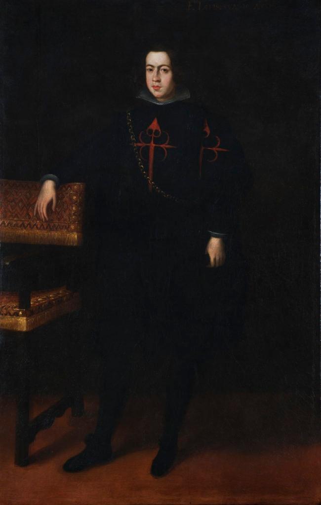 Fotografía del cuadro Joven caballero de Santiago Colección BBVA