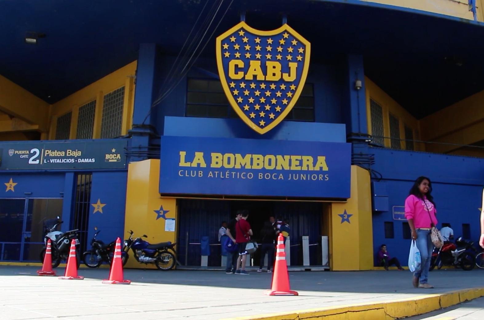 Fotografía entreada la bombonera-estadio-boca juniors