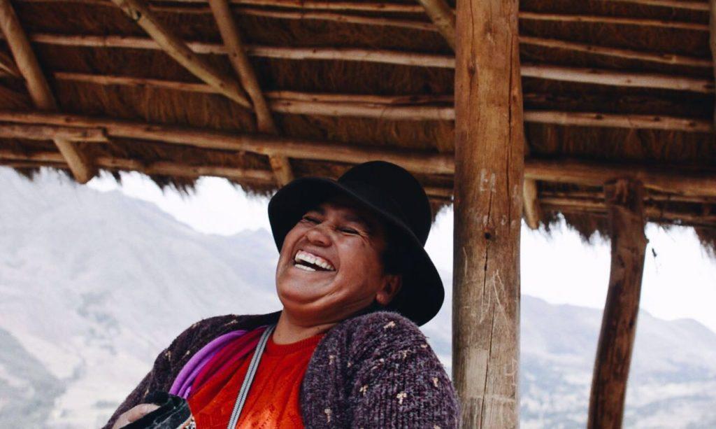 Fotografía de Mujer clienta de la Fundación Microfinanzas BBVA