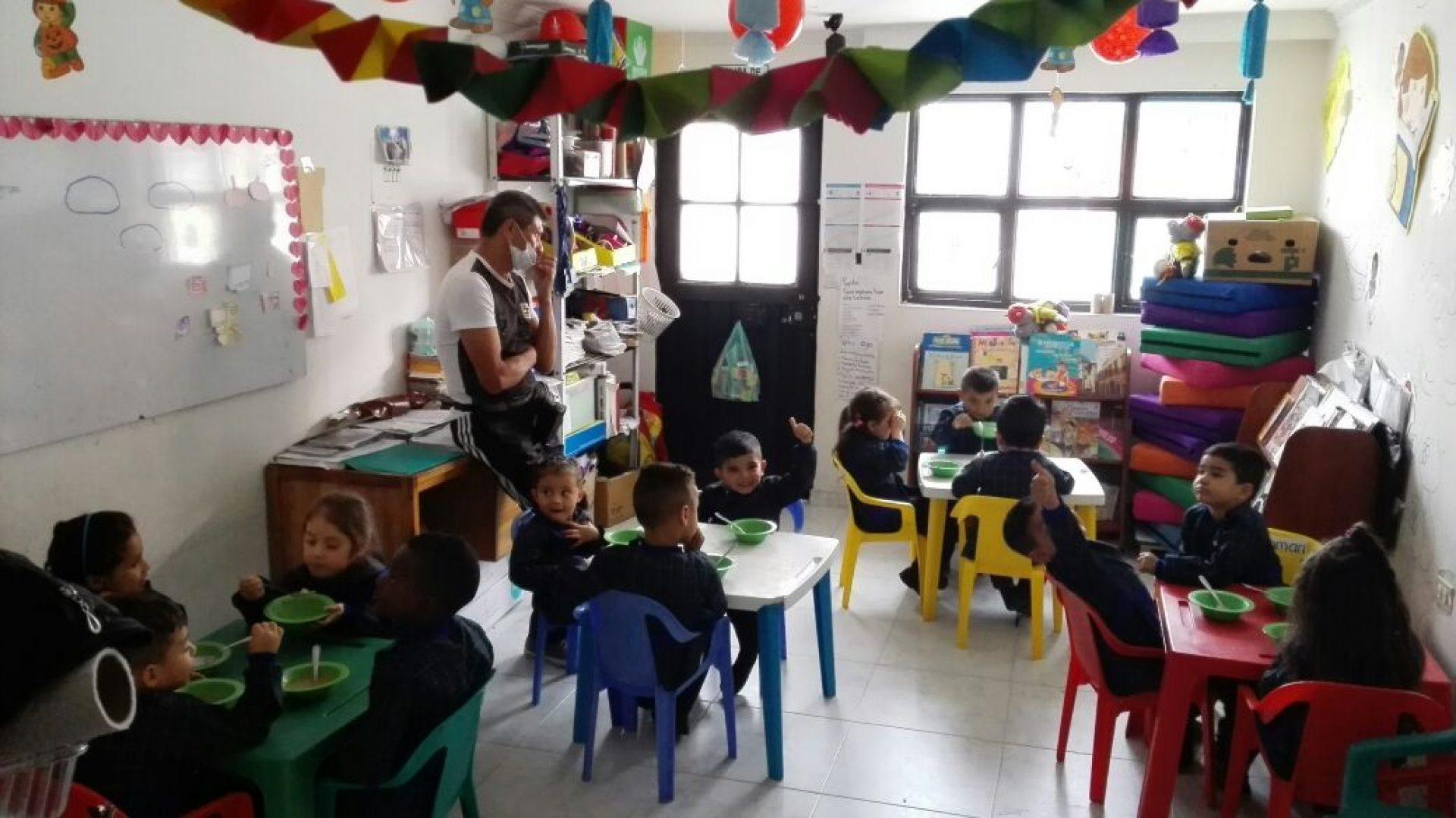 Fotografía del jardín infantil de Norma, clienta de Bancamía- Fundación Microfinanzas BBVA