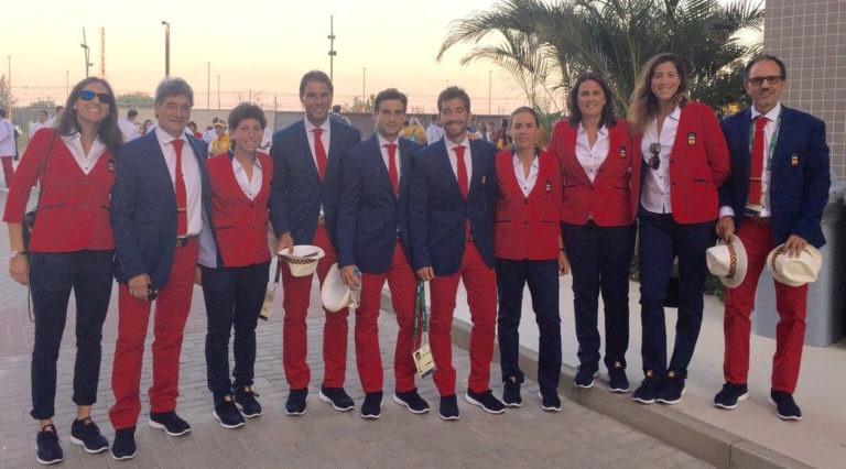Garbiñe Muguruza - El equipo español en Río