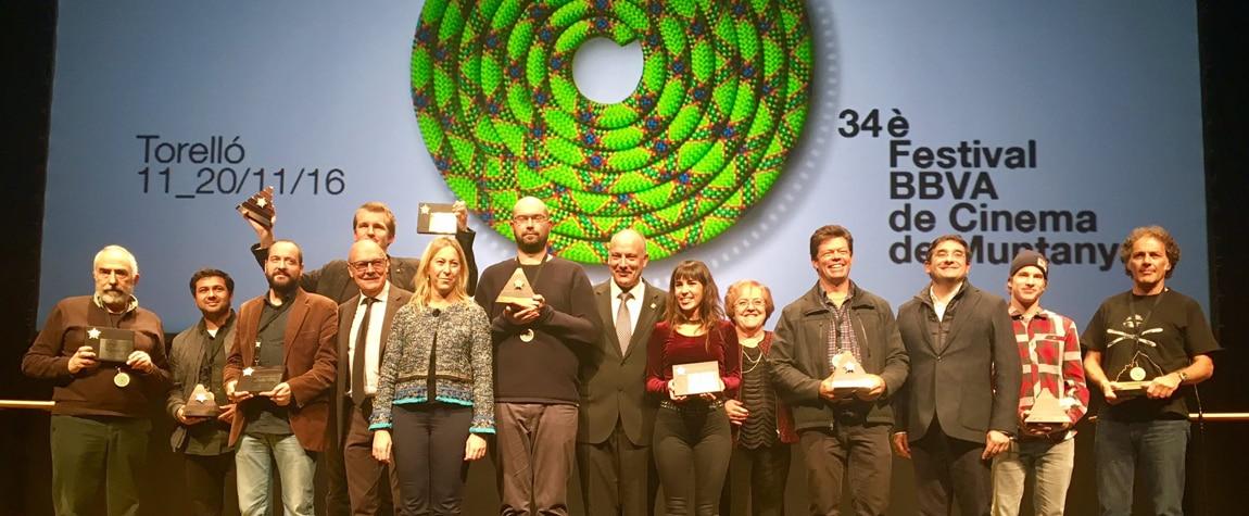 Los ganadores del 34 Festival BBVA de Cine de Montaña de Torelló