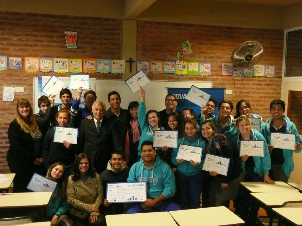 Premiación Mi primera empresa BBVA Francés Buenos Aires